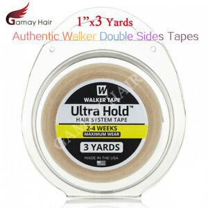 Walker Ultra Sujección Cintas Rollo Hombre Tupé Pelucas 0.3mx3 3/1.2mx3 Doble