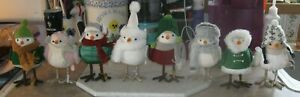 2019-Target-Winter-Holiday-Featherly-Friends-Bird-Set-of-8-Christmas-Wondershop