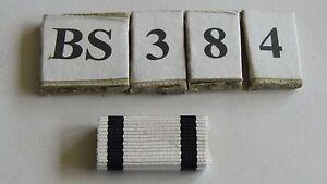 Bandspange Modell 57 EK2 1914 Nichtkämpfer 25mm zum Aufschieben 1 Stück (BS384) - Deutschland - Bandspange Modell 57 EK2 1914 Nichtkämpfer 25mm zum Aufschieben 1 Stück (BS384) - Deutschland