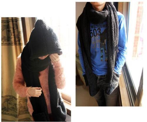 Warm Faux Fur Girl/'s Kids Hat Fluffy Plush Cap Hood Scarf Shawl Glove Earflap