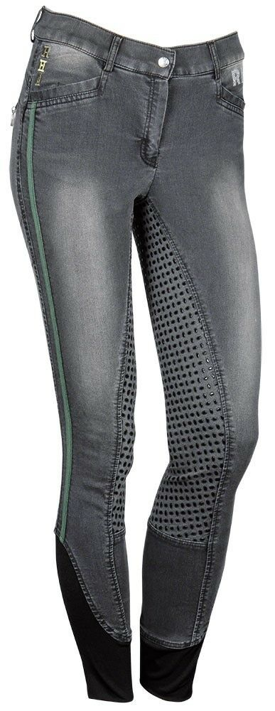 Harrys Horse Reithose Bollington Full Grip, smoked-pearl