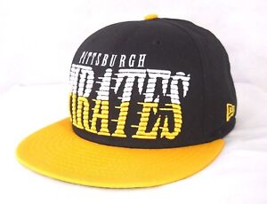 117147de730 PITTSBURGH PIRATES New Era MLB Baseball Men s Snapback Hat Cap Spell ...