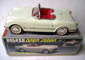 Chevrolet Corvette 1955 Cabriolet - Jouet Tole À Friction China