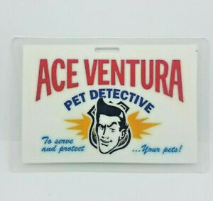 Ace-Ventura-Pet-Detective-ID-Badge-To-Serve-amp-protect-your-pets-cosplay-costume