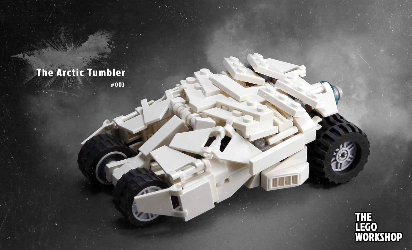 LEGO Arctic Tumbler MOC Genuine LEGO Parts (Mini 76023 Batman Batmobile)