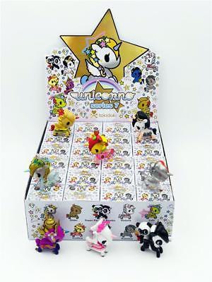 Full Case Of 24 Unicorno Series 7 Blind Box Vinyl Toy Mini