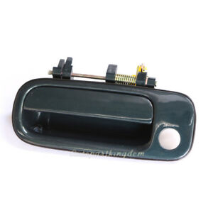 Outside Door Handle Front Left Green Pearl 6m1 For 92 96 Toyota