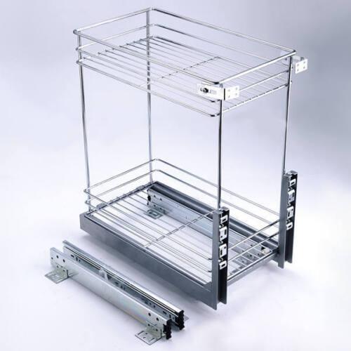 "Kitchen Cabinet Pull-out Drawer 12/"" Organizer"