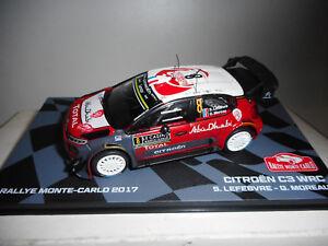 CITROEN-C3-WRC-RALLY-MONTE-CARLO-2017-LEFEBVRE-EAGLEMOSS-IXO-1-43