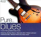 Pure... Blues [Digipak] by Various Artists (CD, Jun-2011, 4 Discs, Sony Music)
