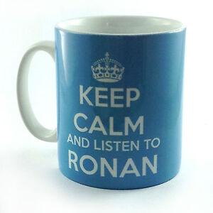 NEUF-Keep-Calm-et-ecoutez-pour-RONAN-cadeau-tasse-MUG-KEATING-BOYZONE-musique