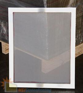 """2 Pack - 25""""x36"""" 90 Mesh Aluminum Frame Printing Screens"""