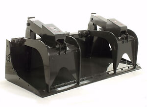 Details about Skid Steer Grapple Bucket 66