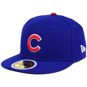 410fb4b93ae New Era 5950 Youth Chicago Cubs GAME Fitted Hat (Light Royal) MLB ...