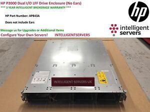 HP-p2000-Dual-I-O-LFF-Laufwerksgehaeuse-ohne-Ohren-ap843a
