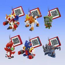 BANDAI Digimon Xros Wars Shoutmon Monitamon Ballistamon Mini Figure gashapon x6