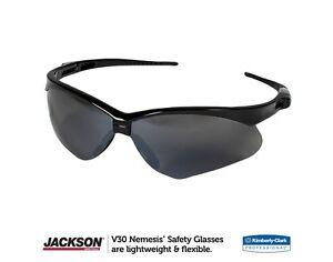 Image is loading Jackson-Safety-25688-Nemesis-Scratch-Resistant-Safety -Glasses- ce5b21f44a