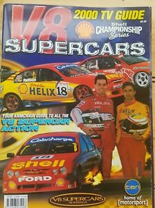Details about V8 SUPERCARS AUSTRALIA (2000) TV GUIDE Shell Championship  Series Magazine