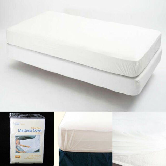 Buy King Size Fitted Mattress Cover Vinyl Waterproof Bed Bug Allergy