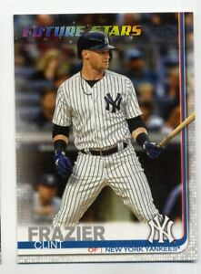 2019-Topps-Series-2-CLINT-FRAZIER-Rare-FUTURE-STARS-412-New-York-Yankees