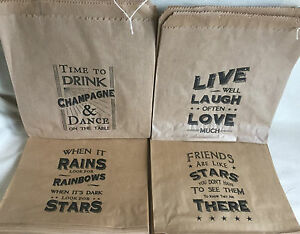 Indian Wedding Favor Bags Uk : East-of-India-Small-Brown-Kraft-Paper-Bags-Wedding-Gift-or-Party-Bags ...