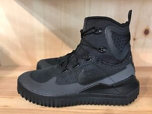 Image is loading NIKE-AIR-WILD-MID-ACG-BOOTS-BLACK-ANTHRACITE-