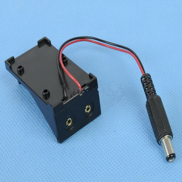 Brand New 9V Battery Holder Box Case Wire with Plug 5.5*2.1mm for Arduino AU