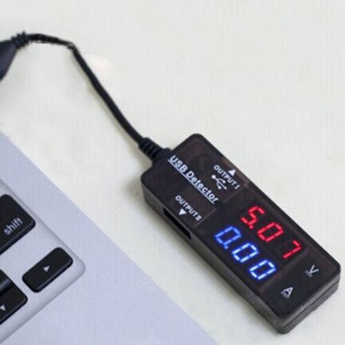 USB Strommesser Spannungmesser Energiemesser Voltmeter Amperemeter Messgerät WOW