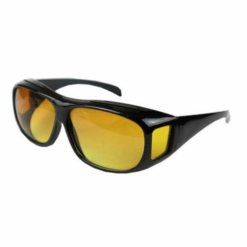Guida sopra occhiali di protezione UV vento notte vista notturna