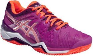 Asics-Gel-Resolution-6-Clay-Damen-Tennisschuhe-Gr-36-Tennis-Schuhe-neu