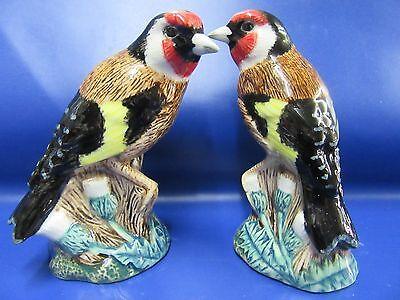 Goldfinch Salt and Pepper Pots Garden Goldfinch Cruet Set New & Boxed