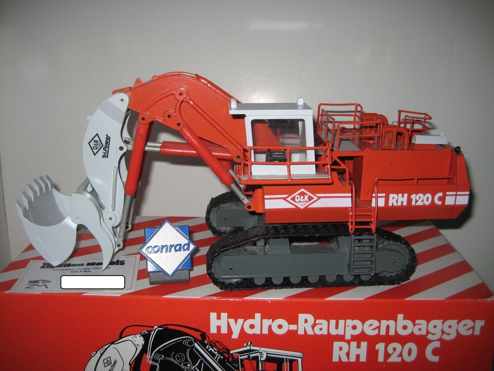 O&k Rh 120 C excavadoras alta cuchara orugas Conrad  2771.1 1 50 OVP