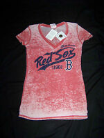 5th & Ocean Women's Boston Red Sox Shirt