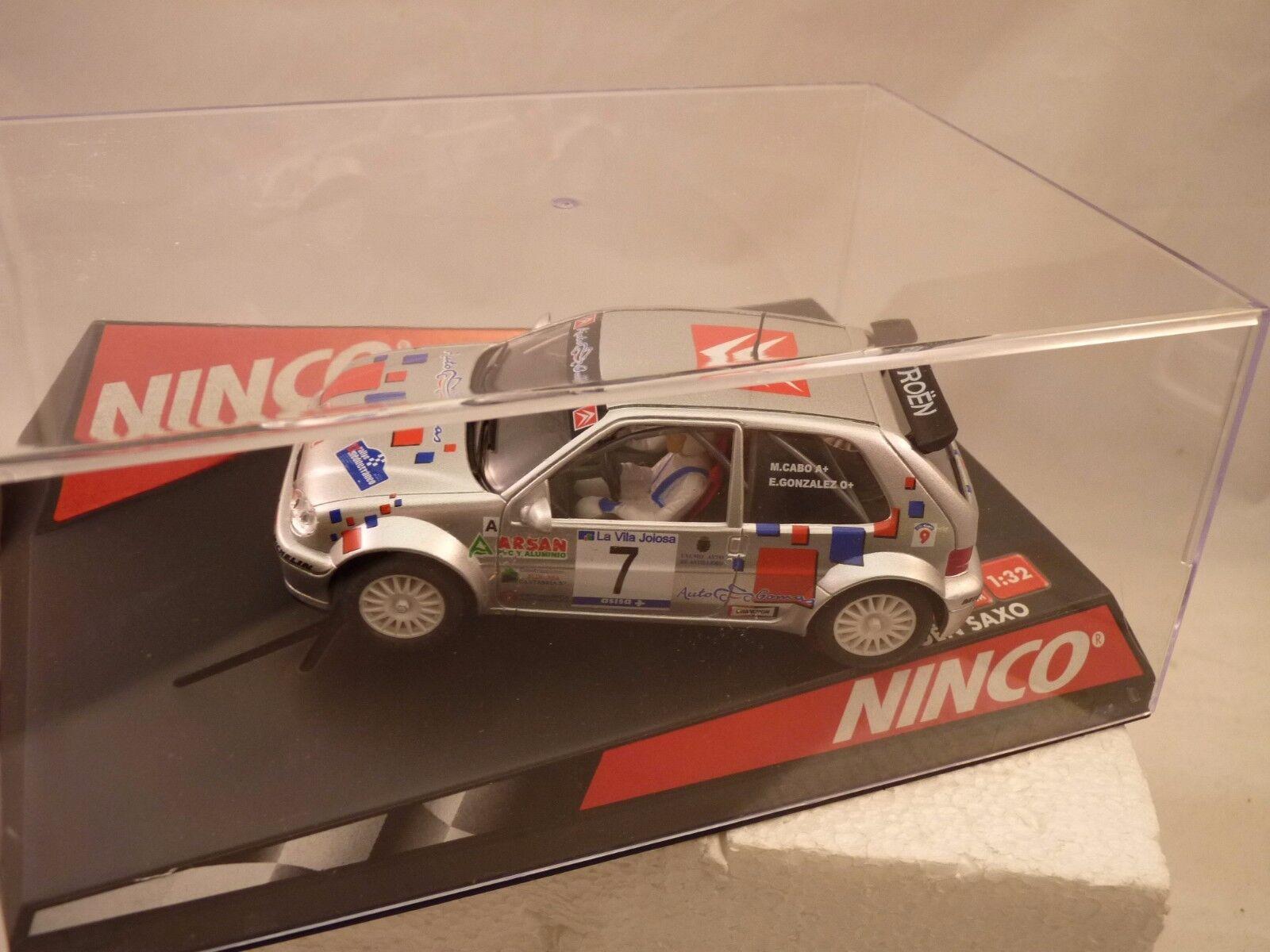 NINCO 1 32 SLOT CAR 50299 CITROEN SAXO SUPER 1800  M.CABO