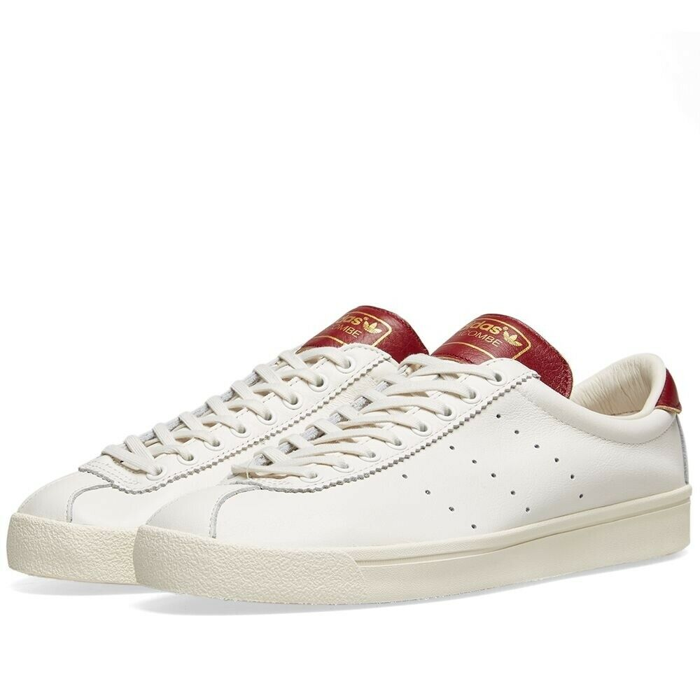 Adidas Lacombe White, Burgundy & Cream Db3014