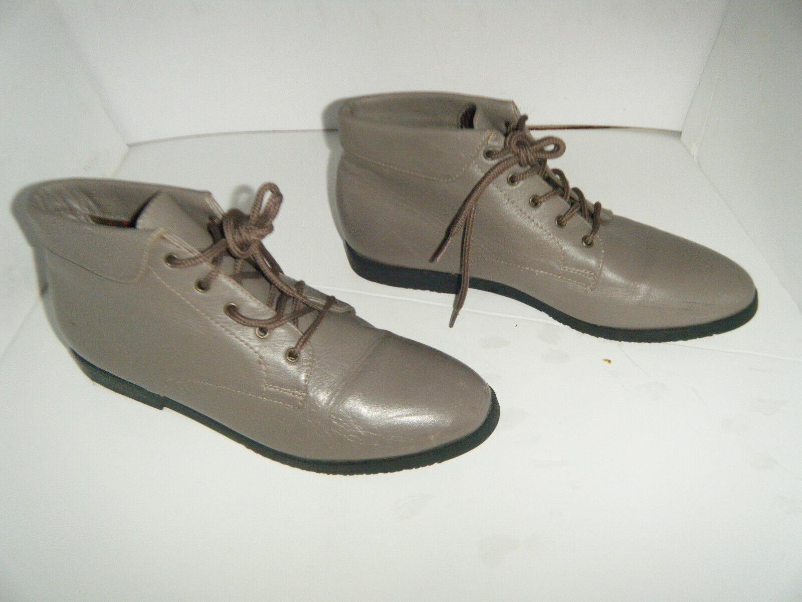 DANEXX Vintage Granny Grunge Boots Size US 6.5 M Women's
