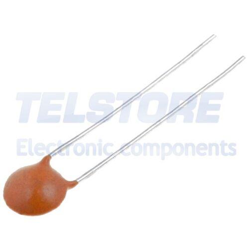 55÷85°C SR PASSIVES 100pcs  Condensatore in ceramica 1nF 100V Y5P ±10/% THT 5mm