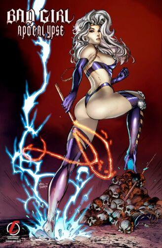 Comic Book Ed Bad Girl Apocalypse Lady Death Madam Necra Mike DeBalfo Ltd
