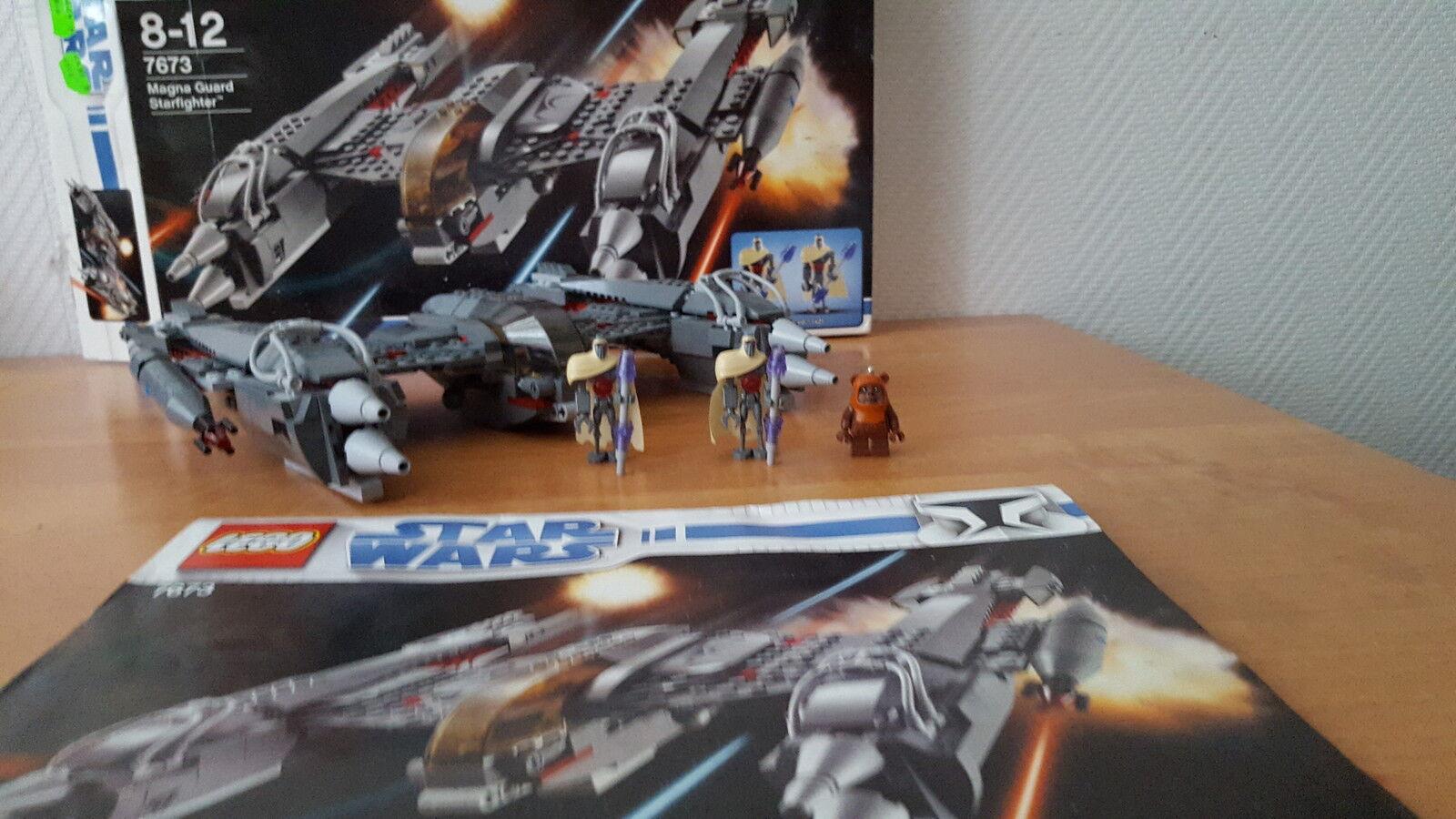LEGO Star Wars 7673 Magna Guard Starfighter mit BA und OVP