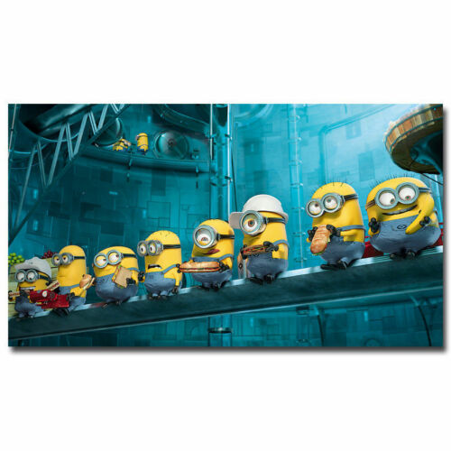 MINIONS Despicable me 2 Movie Silk Poster 13x24 24x43 inch Birthday Gift 04