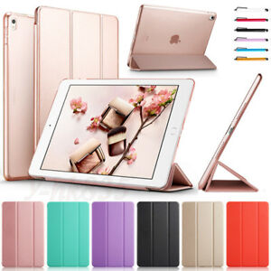 For-New-iPad-6th-Gen-9-7-2018-5th-2017-A1822-A1823-PU-Leather-Case-Cover-Stand