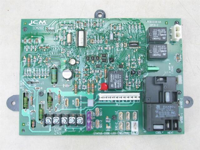Icm Carrier Icm282 Furnace Control Circuit Board Lr30320