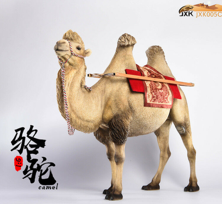 JxK.Studio Jxk005C Bactrian Camel Camelus Resin Animal Figure Model Model Model Toy 062d4d