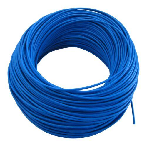 in Germany 0,29€//m KFZ LKW Kabel Litze Leitung Flexible FLRy 0,5mm² 20m Blau M