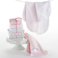 Baby Cakes 3-pack Burp Cloths Baby Girl Baby Shower Gift