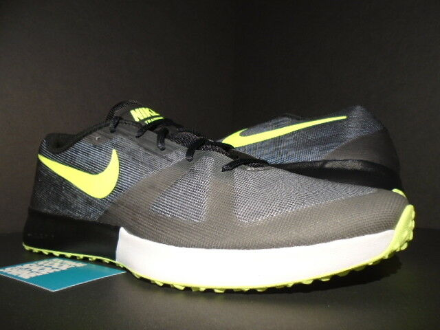 2014 NIKE AIR ZOOM SPEED TR TRAINER 1 COOL GREY VOLT NEON WHITE 630855-070 15