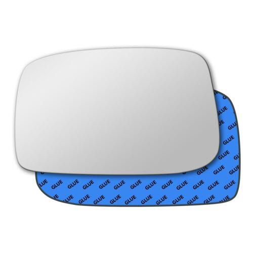 Left Hand Passenger Side Mirror Glass for Peugeot 807 2002-2010 0154LS
