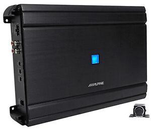 Alpine-MRV-M1200-Mono-1200-Watt-RMS-2-Ohm-Car-Audio-Stereo-Amplifier-Amp-Remote