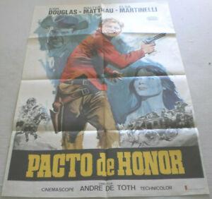 Filmplakat,Plakat,PACTO DE HONNOR,KIRG DOUGLAS,W. MATTHAU,E MARTINELLI #74