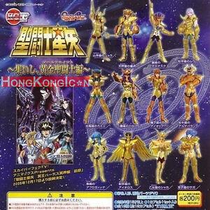 SAINT-SEIYA-Bandai-2005-Gashapon-Figures-Gold-Saint-Myth-Cloth-HGIF-SP-Set-of-12